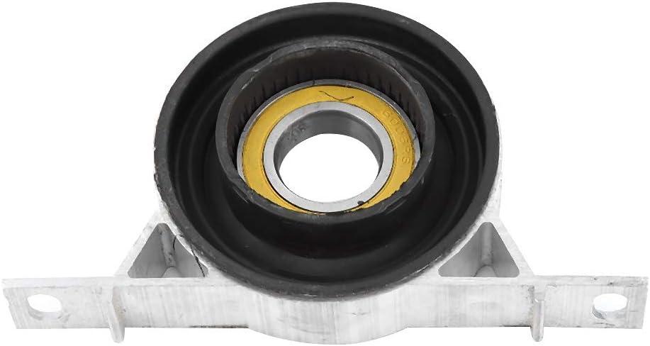 aluminio Qii lu Soporte de rodamiento central del eje de transmisi/ón del coche para 525i 530xi X3 26127521855 Aleaci/ón de caucho