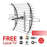 GE Pro Attic Mount TV Antenna, Attic, Long Range Antenna, Directional...