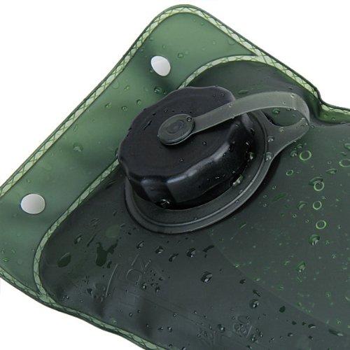 3l Trinkblase TPU Außentasche - Olive Tasche Schwarz Rohr
