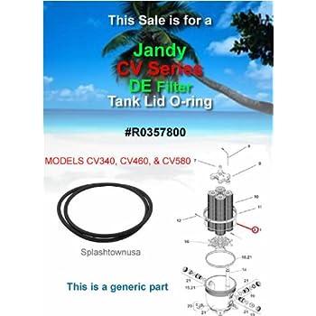 Amazon Com Jandy Cv340 460 580 Cartridge Filter O Ring