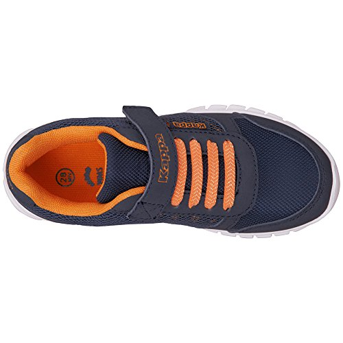Kappa Stay Kids, Zapatillas Unisex Niños Blau (6744 Navy/Orange)