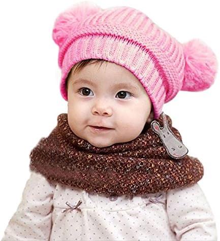 vivobiniya Baby Girl Hats Toddler Girl Hats Scarf Winter Ear Protection Cap