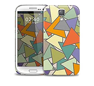 abstract triangles Samsung Galaxy S4 GS4 protective phone case