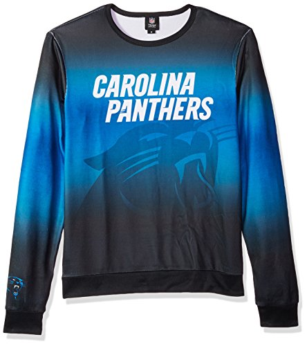 32397b8a Amazon.com : FOCO NFL Mens Printed Gradient Crew Neck Sweater : Clothing