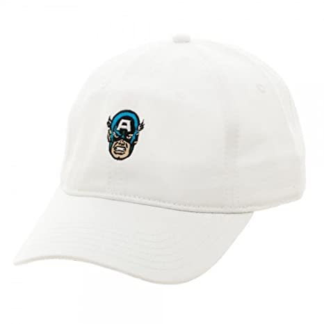 3255a0d55d0 Image Unavailable. Image not available for. Color  New Marvel Comics Captain  America Embroidered Dad Hat ...