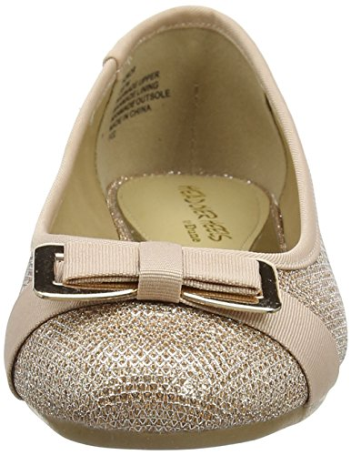 Gold Heels Over Head Ballet Flats gold Rose Honor WoMen C4a5qwY