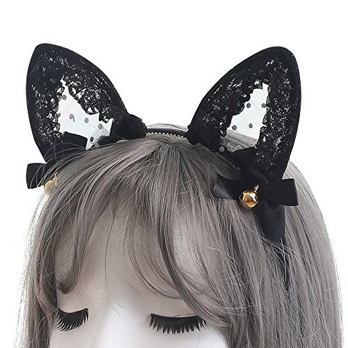 TOMORI-Cute-Lace-Cat-Ears-Headband-Sexy-Cosplay-Accessories-Hair-Hoops-Lady-Lovely-Kitten-Headdress