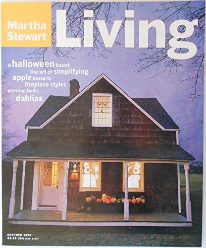 Martha Stewart Living Magazine October 1996: A Halloween (Martha Stewart Living Halloween Issue)