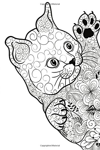"Download Color My Cover Cat Journal - Floral Kitty: 100 page 6"" x 9"" Ruled Notebook: Coloring Journal, Blank Notebook, Blank Journal, Lined Notebook, Blank Diary (Color My Cover Cat Journals) (Volume 11) ebook"