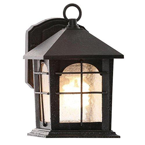 Iron Collection Lanterns (Brimfield Outdoor Aged Iron Wall Lantern)