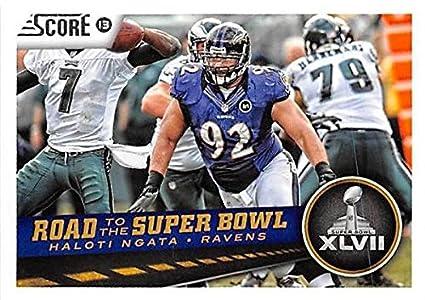 Haloti Ngata football card (Baltimore Ravens) 2013 Score  263 Road ... d981e584b