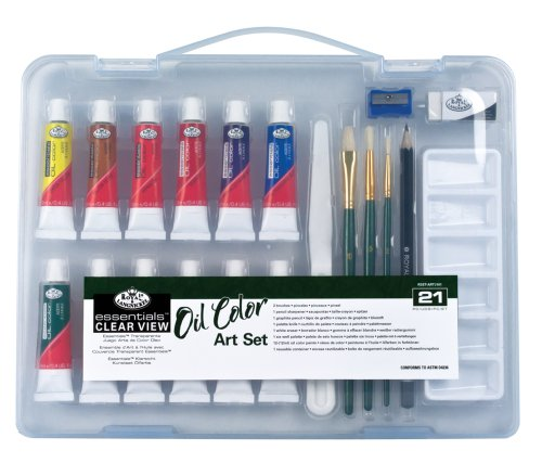 Royal & Langnickel Essentials Clear View Oil Painting Set, (View Oil Painting)