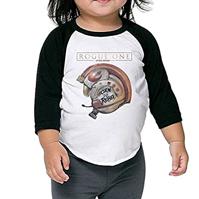 Unisex Toddlers/Kids Rogue One A Star Wars Story 3/4 Sleeve Baseball T-Shirt