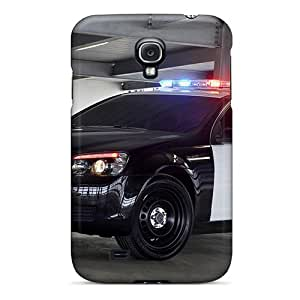 Tpu Shockproof/dirt-proof Chevrolet Caprice Police Patrol Vehicle Cover Case For Galaxy(s4)