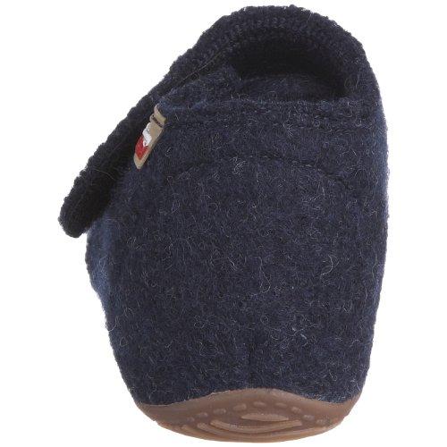 Living Kitzbühel Babyklettschuh uni 1609 - Zapatos para bebé para niños Azul (Blau/Nachtblau)