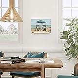 Adecuado Coastal Wall Art Beach Scene Canvas Prints