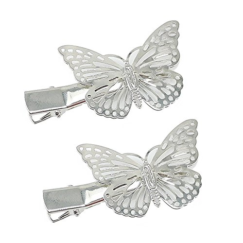 Yueton Silver Butterfly Accessories Headwear