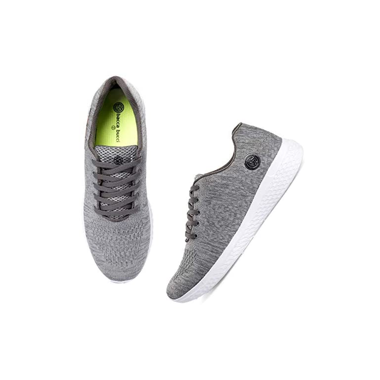 51tUG9b9cgL. SS768  - Bacca Bucci® Running Shoes Men Lightweight Fashion Sneakers Walking Footwear Tennis Athletic Shoes Slip-On for Outdoor Sport Gym Jogging Big Size UK-11 to 13