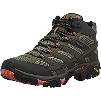 Merrell Women's Moab 2 Mid GTX High Rise Hiking Boots, us 2