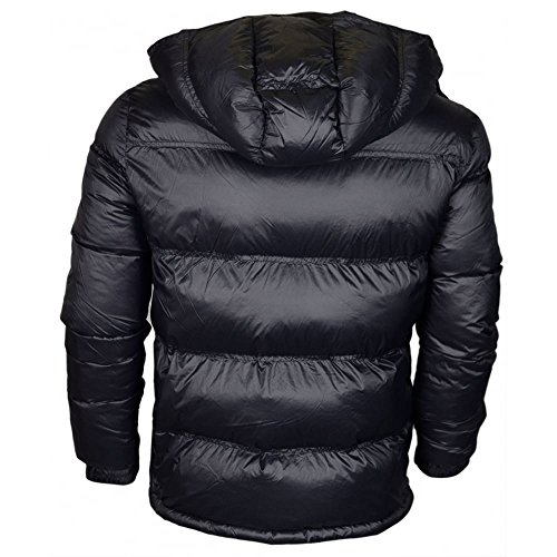 Goose EA7 Heavy Jacket Active Black Hooded Emporio Down Mountain Armani Men's WqXag7nCq