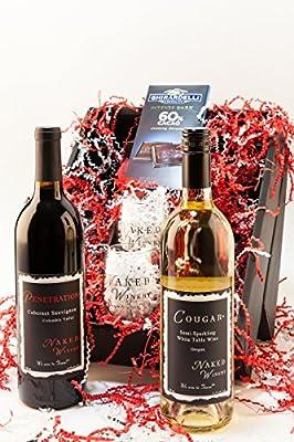 Night Starter Wine Gift Set, 2 x 750 mL by Naked Winery