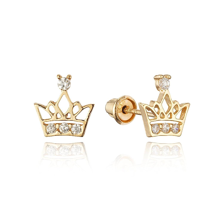 Beautiful Diamond Earrings for toddlers | Jewellry\'s Website