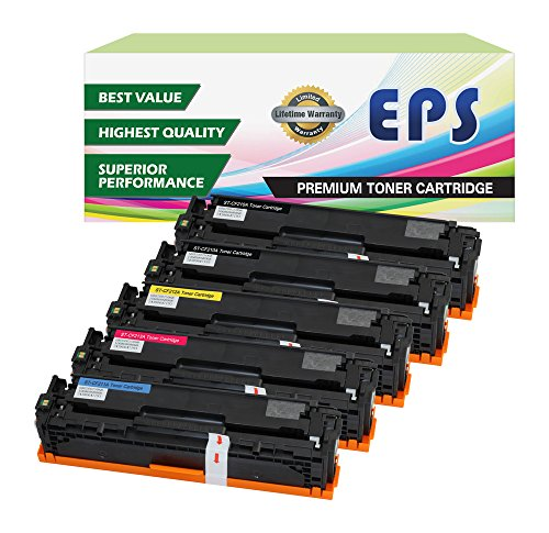 EPS Compatible Toner Cartridge Replacement for HP 131a ( Multicolor , 5-Pack )
