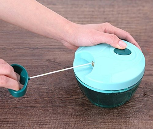 Homemade Baby Food Chopper - Manual Hand Powered Food Processor