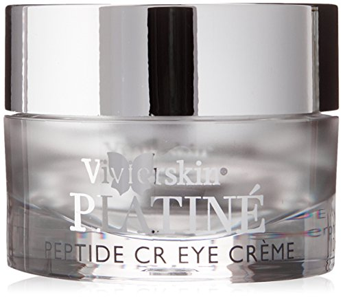 VivierSkin Platin Peptide CR Eye Creme, 0.3 Fluid Ounce by VivierSkin Platiné