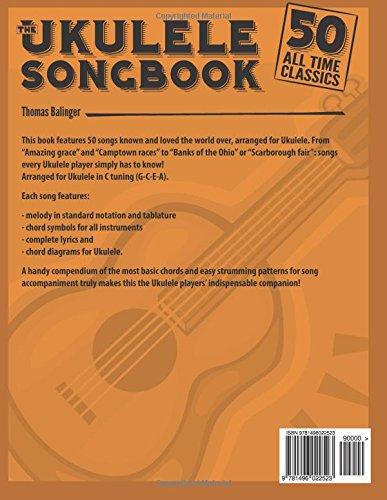 Amazon The Ukulele Songbook 50 All Time Classics
