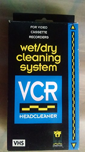 procare wet/dry cleaning system: VCR Headcleaner (Cleaning Procare)