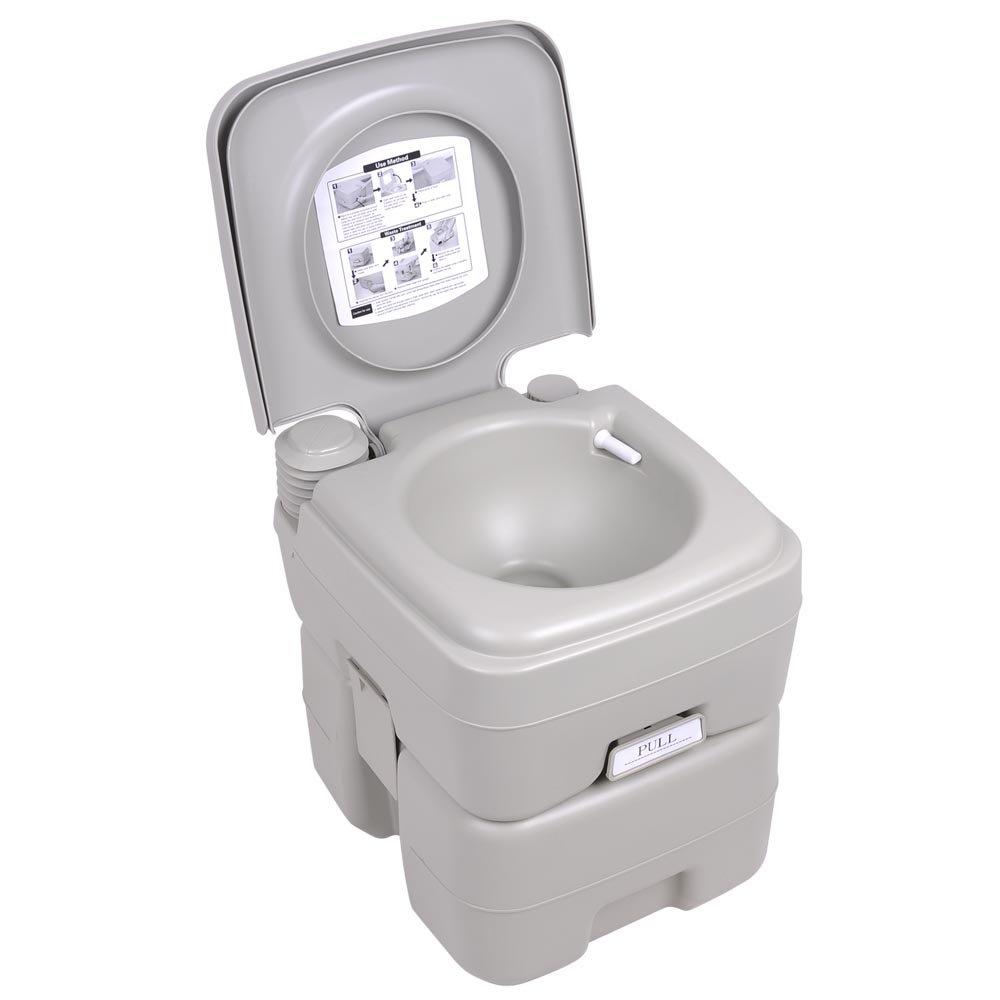 Amazon.com : 5 Gallon / 20L Portable Toilet Flush Travel Outdoor ...