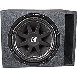 Kicker Comp 43C154 15 500W Car Subwoofer + Single Vented Sub Box Enclosure