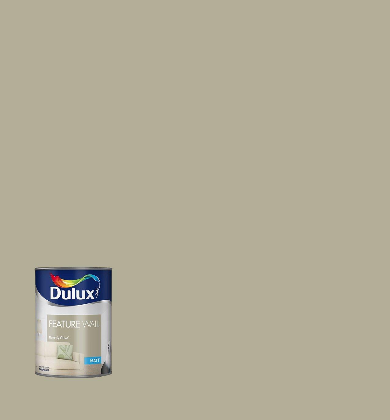 Dulux Matt Paint For Walls Feature 1.25 L