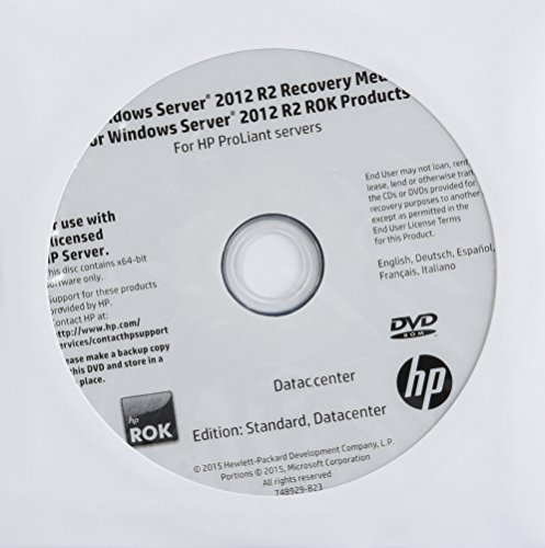 2TU9693 - HP Microsoft Windows Server 2012 R.2 Standard 64-bit - License and Media - 2 Processor
