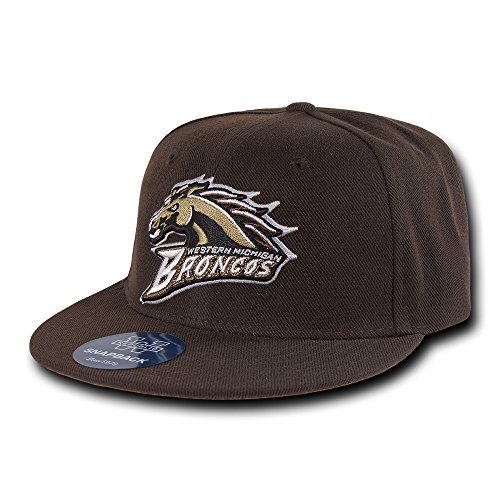 (W Republic The Freshman, College Snapbacks (Western Michigan University, Brown))