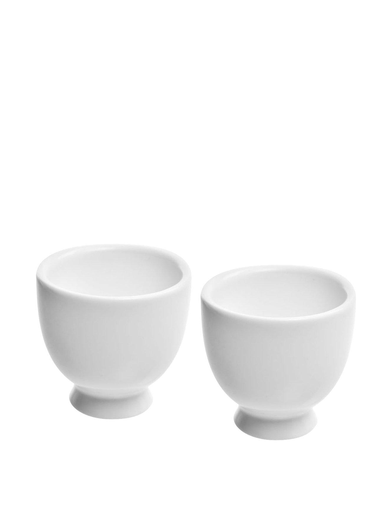 10 Strawberry Street Whittier 1.5 Oz Sake Cup, Set of 6, White