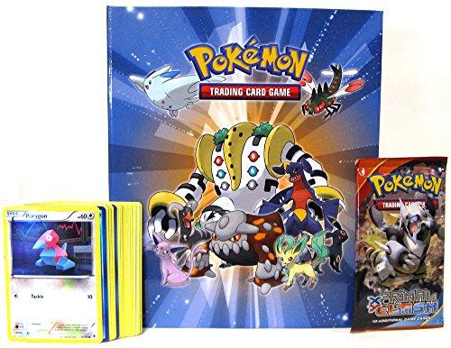 Set 1 Booster Pack (Ultra Pro Pokemon Regigigas Binder with 40 Cards & 1 Booster Pack 2