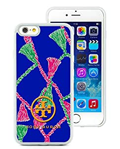 Unique And Luxurious Custom Designed Cover Case For iPhone 6 4.7 Inch TPU With Tory Burch 30 White Phone Case