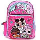 L.O.L SURPRISE Large 16'' inches Backpack - New Licensed Product with Tags