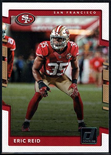 2017 Donruss #297 Eric Reid San Francisco 49ers Football Card