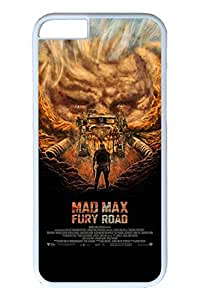 iPhone 6 Case, 6 Case - Air Cushion Technology Bumper Case for iPhone 6 Mad Max Fury Road Scratch-Resistant White Hard Cover Case for iPhone 6 4.7 Inches