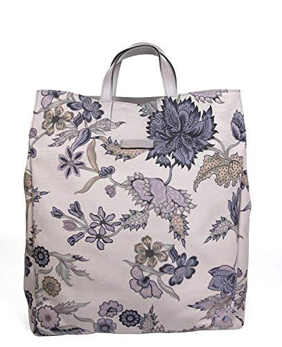 Gucci Unisex Mauve Canvas Floral Fabric Top Handle Tote Bag 341739 5465