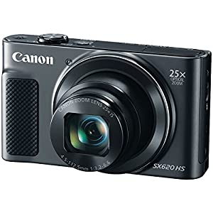 CANON 20.2-Megapixel PowerShot(R) SX620 Digital Camera (Black) (Certified Refurbished) from CANON(R)