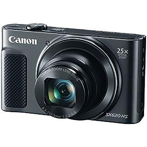 CANON 20.2-Megapixel PowerShot(R) SX620 Digital Camera (Black) (Certified Refurbished)