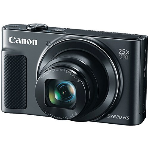 CANON 20.2-Megapixel PowerShot(R) SX620 Digital Camera (Black) (Certified Refurbished)