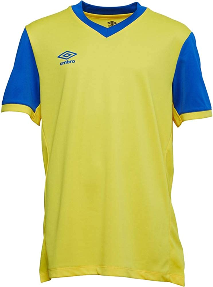 Boys Short Sleeve Football Top Mesh Ventilation Age 7-14 Umbro/