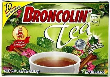 Amazon.com : Broncolin Tea 25 Bags - Bolsas De Te : Grocery ...