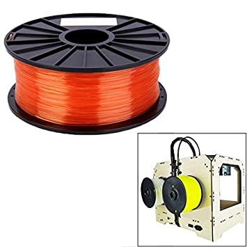 Wewoo antiácaros Transparentes de Impresora 3D pla 1.75 ...
