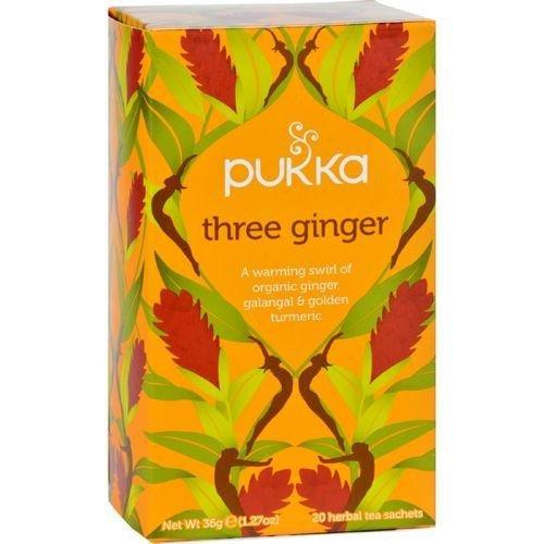 Pukka Herbs Tea Herbal Three Ginger